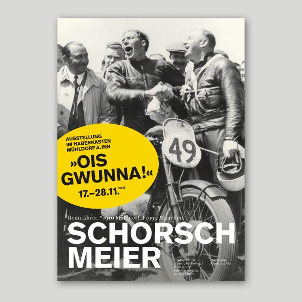 Ausstellung »Schorsch Meier«, Plakat