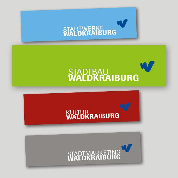Stadtbau Waldkraiburg, Logo