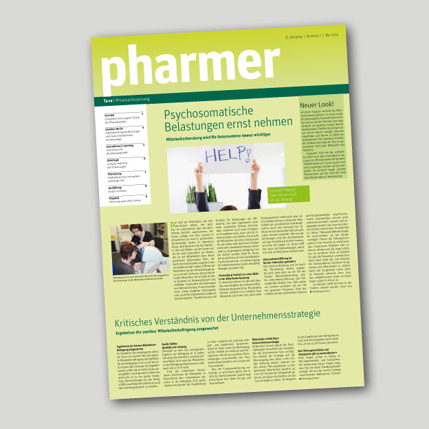 TEVA ratiopharm, Mitarbeiterzeitung »Pharmer«
