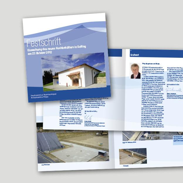 Stadtwerke Mühldorf am Inn, Festschrift-Broschüre