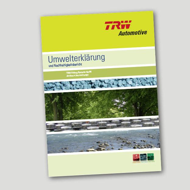 TRW Automotive, Umwelterklärung, Broschüre