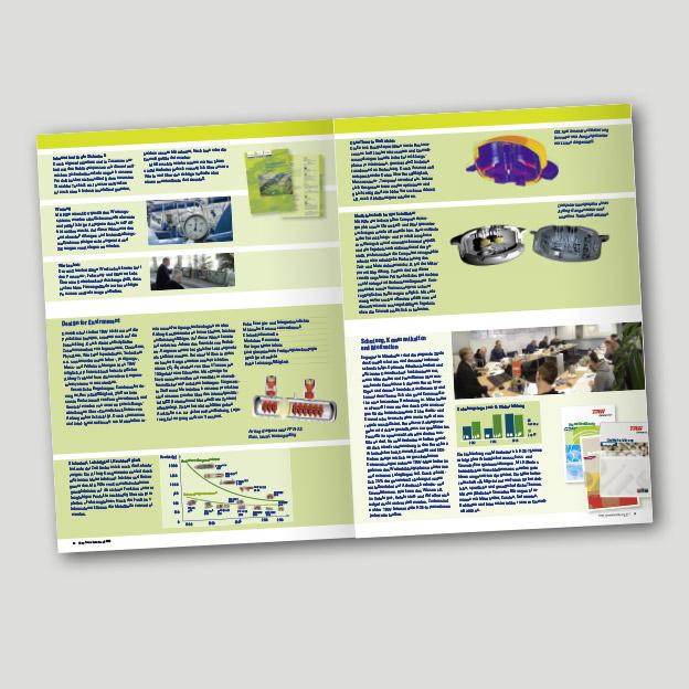 TRW Airbag Systems GmbH, Umwelterklärung, Broschüre