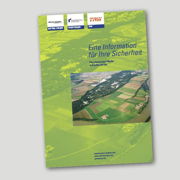 TRW Airbag Systems GmbH, Rheinmetall Nitrochemie, Bayern Chemie MBDA, Störfallbroschüre 2015