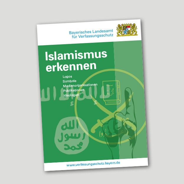 Broschüre »Islamismus erkennen«, Titelseite