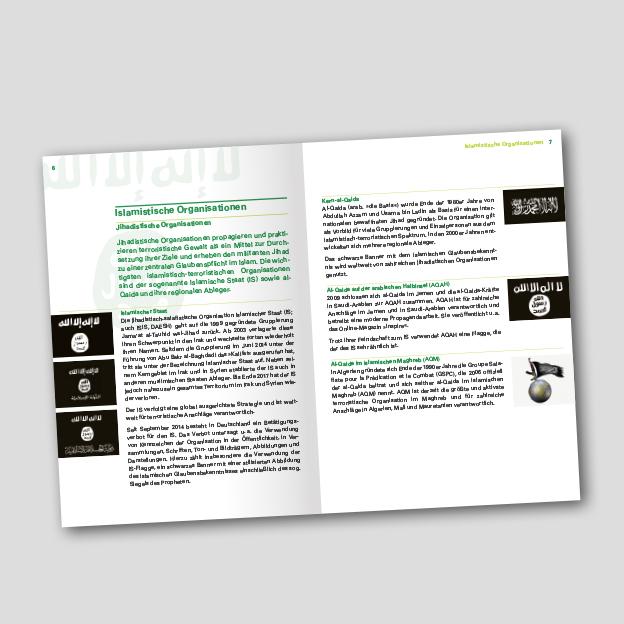 Broschüre »Islamismus erkennen«, Innenseite