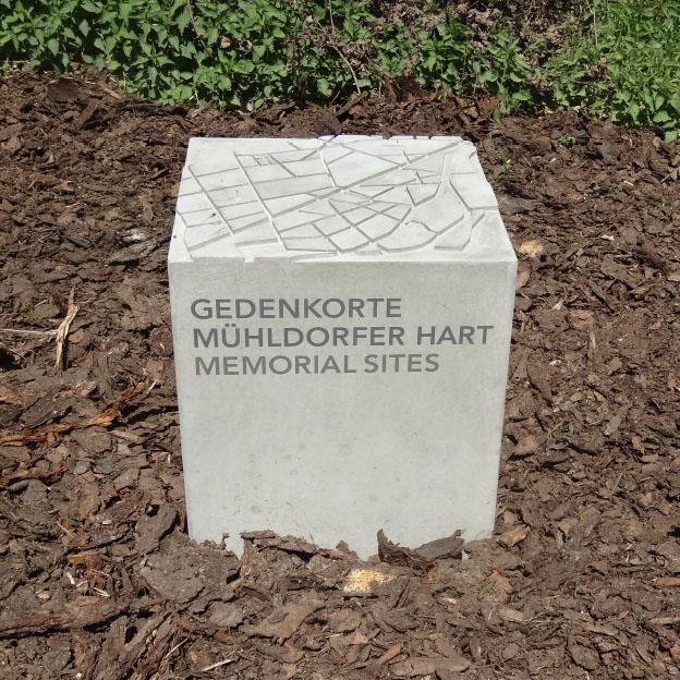 Gedenkorte Mühldorfer Hart, Erinnerungsstein