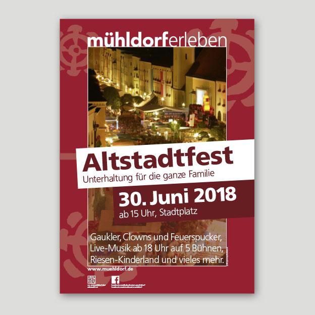 Altstadtfest, Plakat