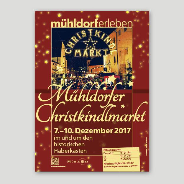 Christkindlmarkt, Plakat