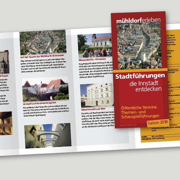 Faltblatt Stadtführungen