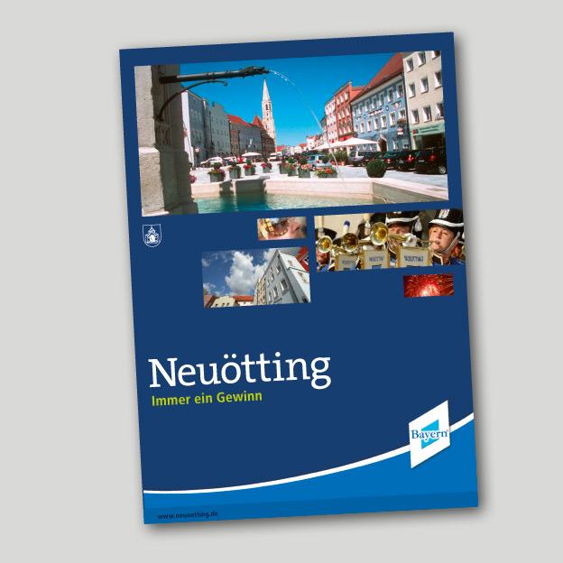 Stadt Neuötting, Stadtbroschüre