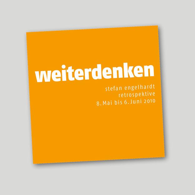 Stefan Engelhardt, Begleitband zur Ausstellung »weiterdenken«