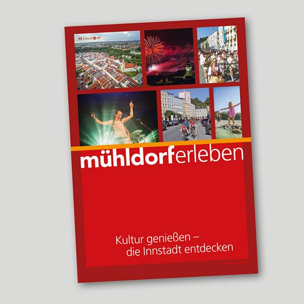 Stadt Mühldorf, Kulturbüro, Imagebroschüre