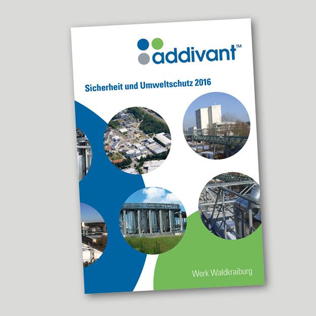 addivant, »Sicherheit und Umweltschutz«, Broschüre 2018