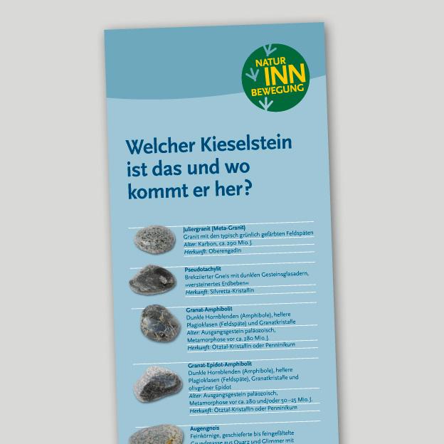 »Natur INN Bewegung«, Mühldorf a. Inn, Infotafel