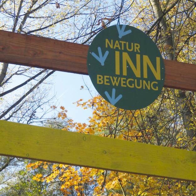 »Natur INN Bewegung«, Mühldorf a. Inn, Eingangsportal