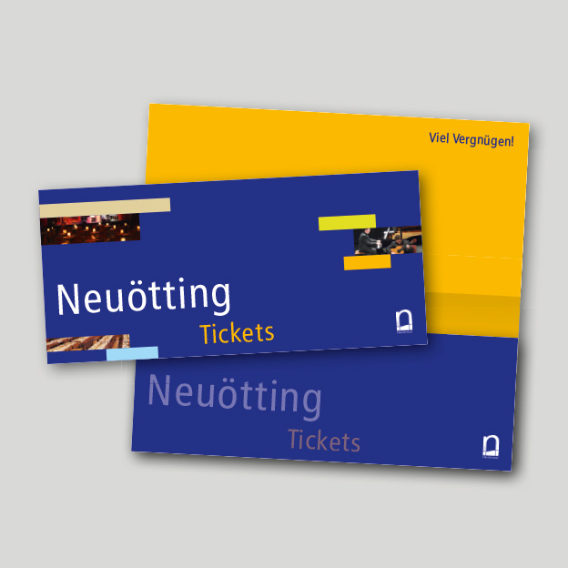 Stadt Neuötting, Kulturreferat, Tickethülle