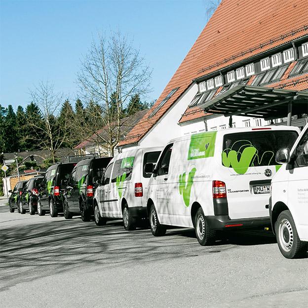 Stadtbau Waldkraiburg, Fuhrpark