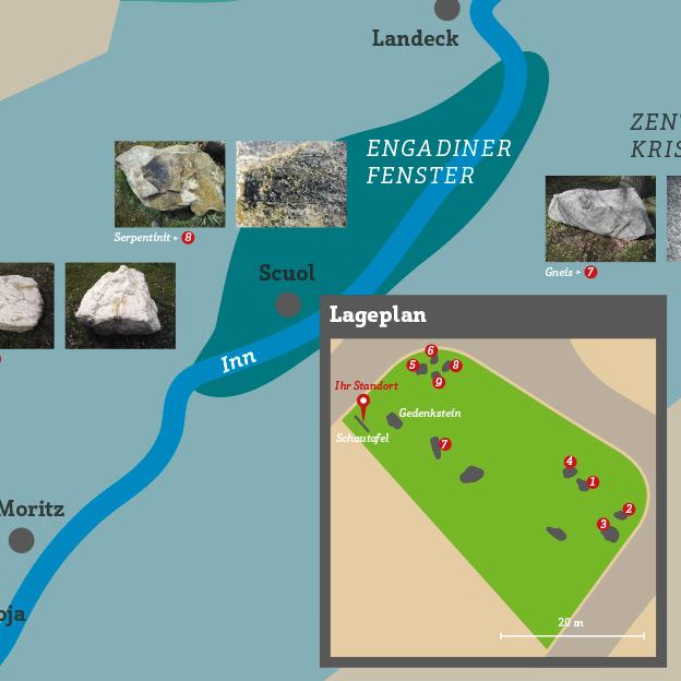 Verschoenerungsverein Haag, Tafel Gletschergarten