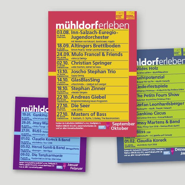 Stadt Mühldorf, Kulturbüro, Anzeigen