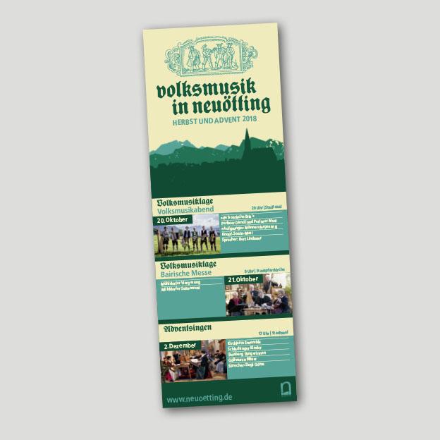 Volksmusik in Neuötting, Übersichtsplakat