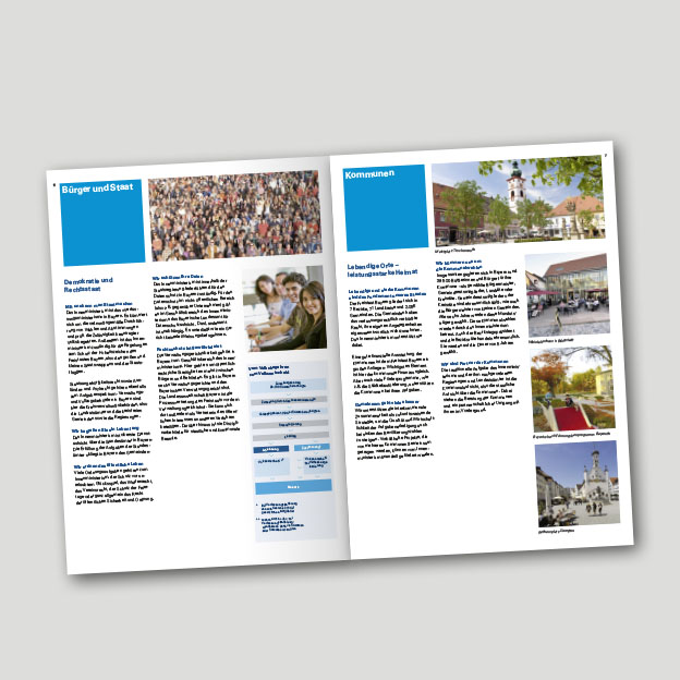 Bayerisches Staatsministerium des Innern und für Integration, Broschüre »Wir stellen uns vor«