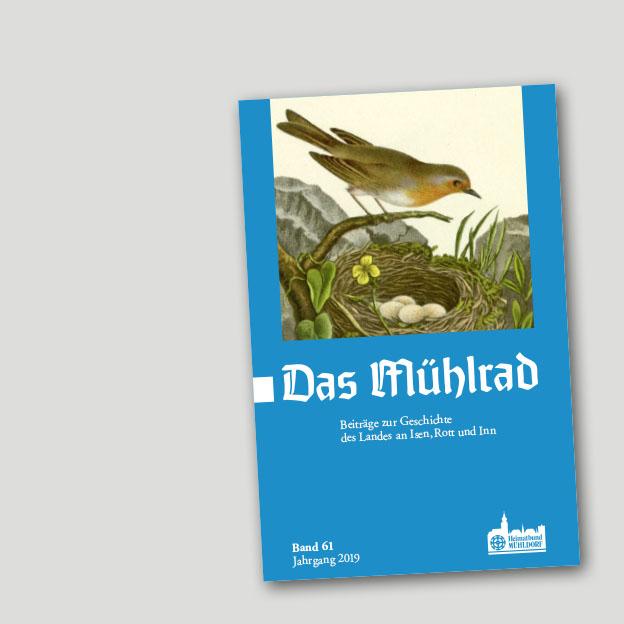 Das Mühlrad – Beiträge zur Geschichte des Landes an Isen, Rott und Inn, Titel