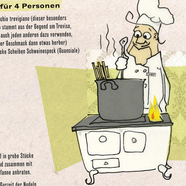 C. Rudholzner, freie Kochbuch-Illustration