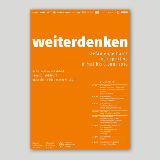 Stefan Engelhardt »weiterdenken«, Plakat